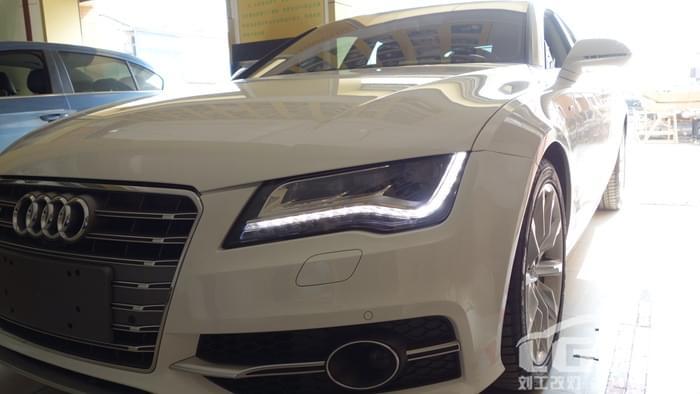 A7升级高配全LED大灯总成 -汽车改装,汽车照明,高清图片