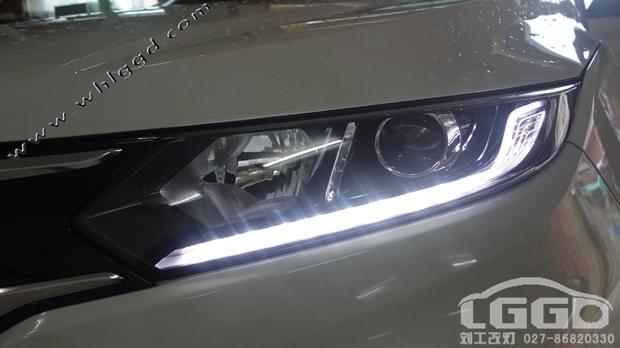 本田XRV改氙灯高清图片