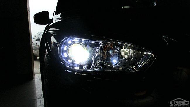【英菲尼迪fx35】武汉改灯-原装进口海拉5双光透镜