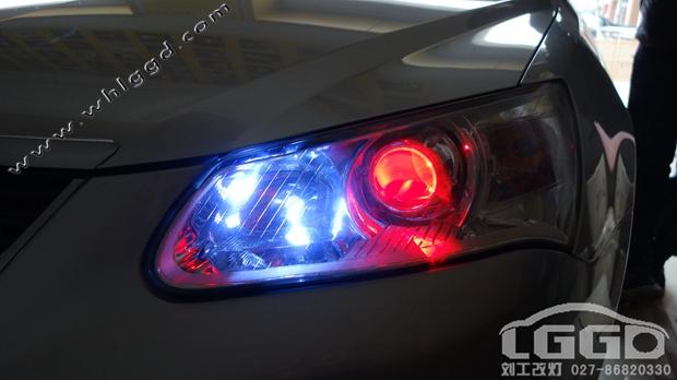 帝豪EC715改氙灯