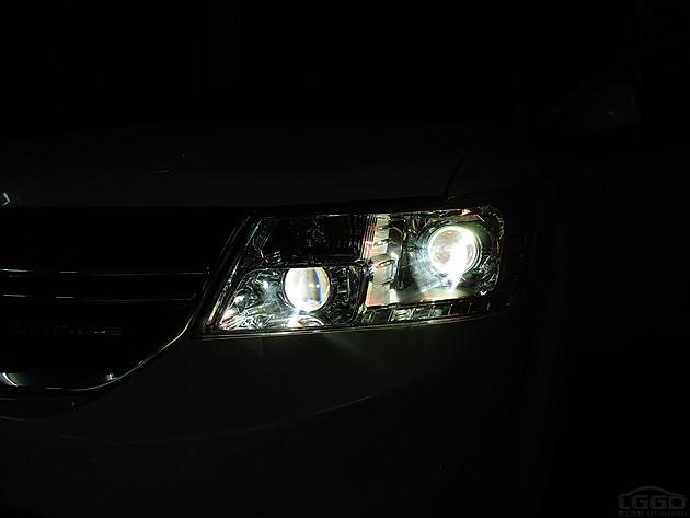 酷威改海拉Q5四透镜