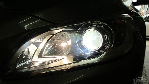 沃尔沃S60L改透镜氙灯