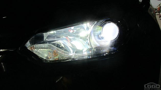 MG锐腾改海拉6双光透镜