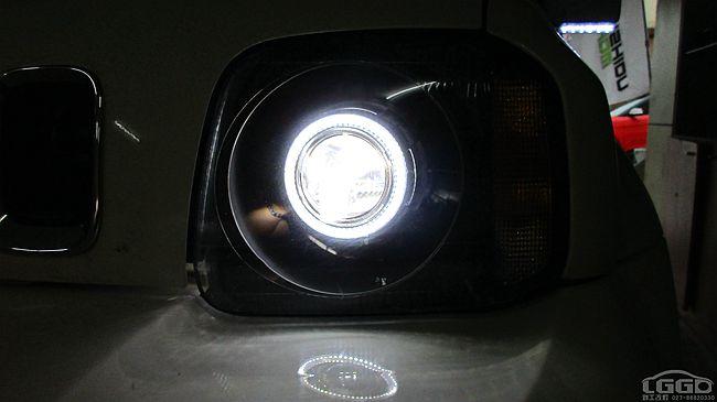 吉姆尼改LED双光透镜
