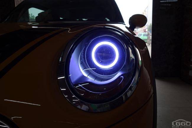宝马MINI改LED透镜