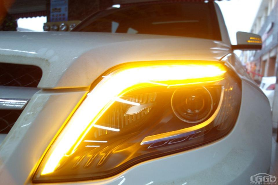 武汉奔驰GLK升级原厂高配总成