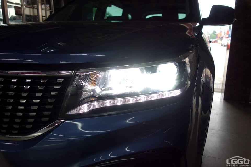 东风景逸X5改LED透镜