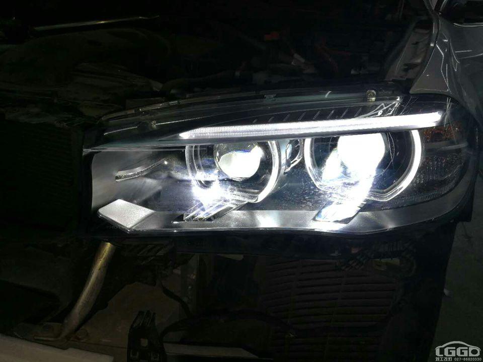宝马X5改LED双光透镜
