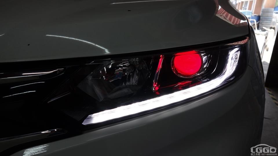 本田XRV改专供海5双光透镜+日行灯