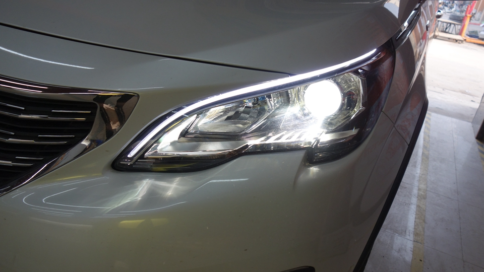 标志5008车灯改装升级欧司朗专供套餐