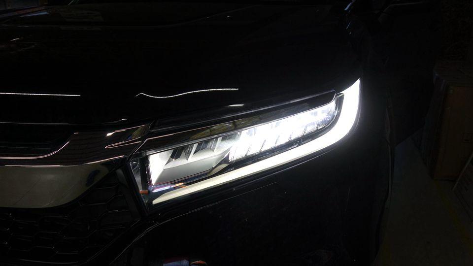 本田冠道改原厂高配全LED大灯总成