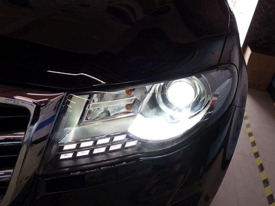 长城哈弗H8大灯改装升级,欧司朗套装,海拉透镜+欧司朗氙气灯
