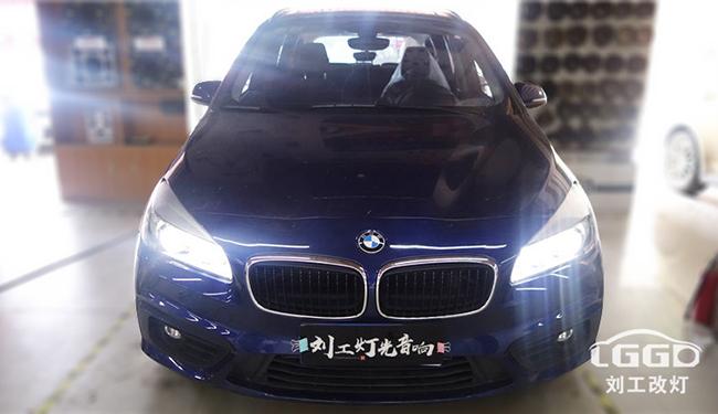 宝马2系汽车大灯改装专供海5+欧35W+激光XNL-黄冈改灯