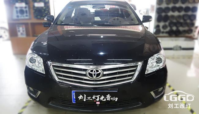 丰田凯美瑞改灯阿帕黄金版套装性价比高吗?
