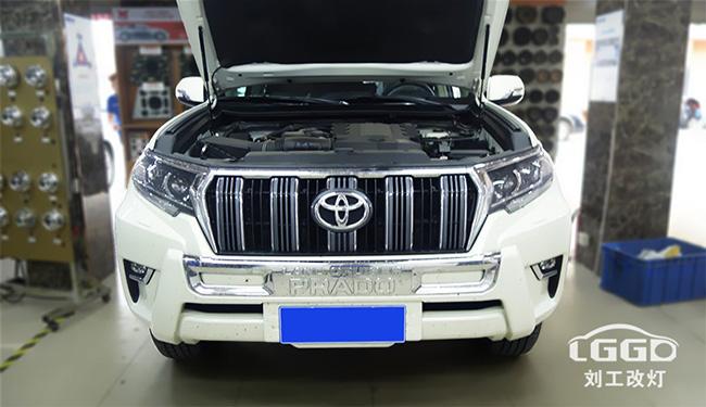 丰田辉腾车灯改装,汽车大灯改装专供海5+CLC+阿帕45W安定器