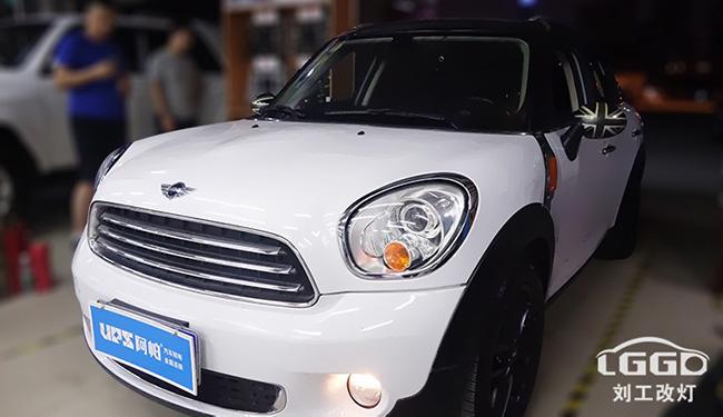 宝马汽车大灯改装,MINI改灯配置怎么选?改后能过年审吗?