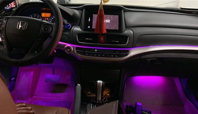 歌诗图改装灯,加装64色氛围灯!喜欢的,可以上车撩了!
