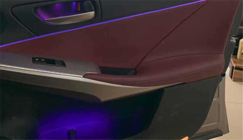 武汉灯光升级,雷克萨斯IS300加装64色氛围灯!