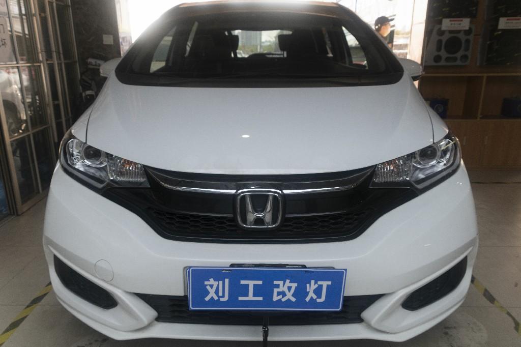 本田飞度车灯改装升级名亮L2 LED双光透镜+专用套件