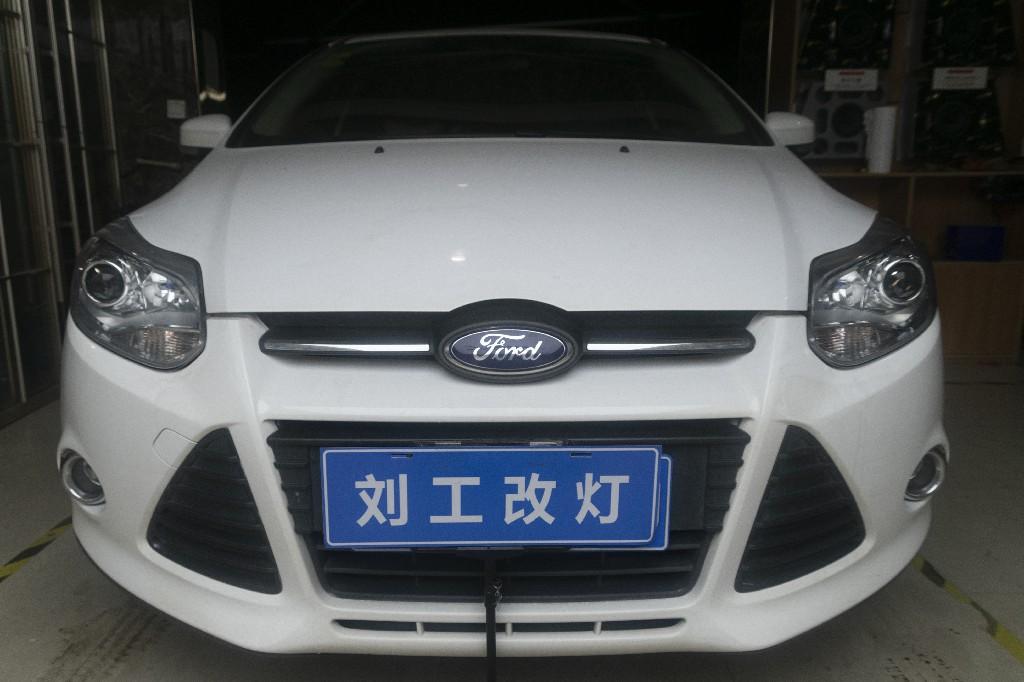 福特福克斯车灯改装升级阿帕冰封PRO LED远近一体双光透镜